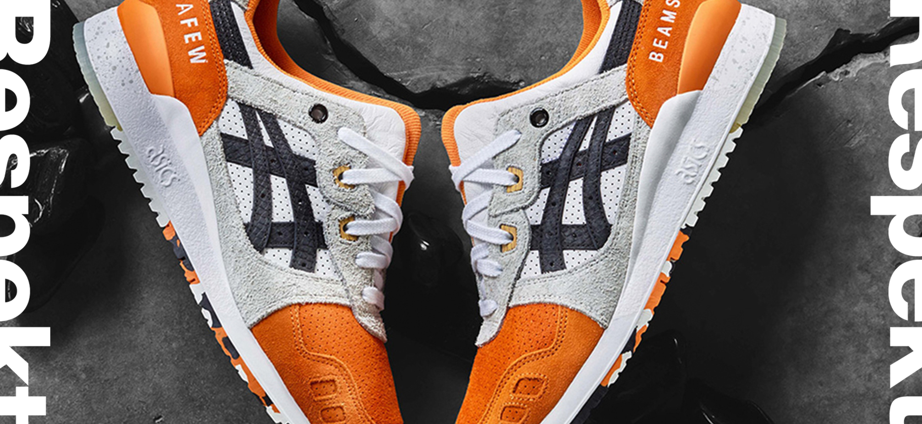 Afew x Asics - from disinterest to global hype